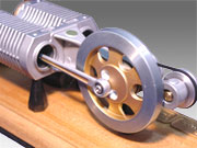 stirling engine flywheel