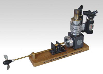 b20 stirling engine with colective pich propeller 可変ピッチシステム